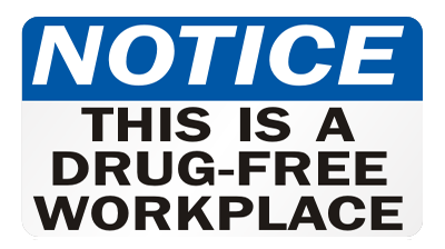 Drug Free Work Place
