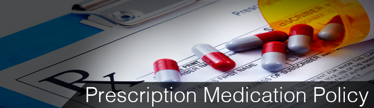 Prescription Medication Policy