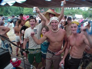 Study Shows Party Never Stops for Fraternity Brothers